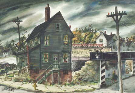 Henry Gasser, 'The Underpass', ca. 1950s-1960s