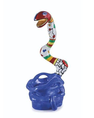 Niki de Saint Phalle, 'Pouf Serpent Bleu', 1991