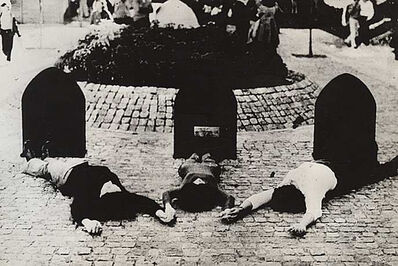 Luis Pazos, 'Proyecto de monumento al prisionero político desaparecido', 1972