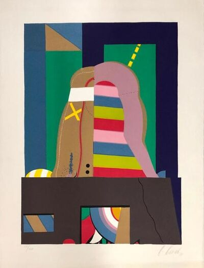 Karl Korab, 'Surrealistic composition', 1971