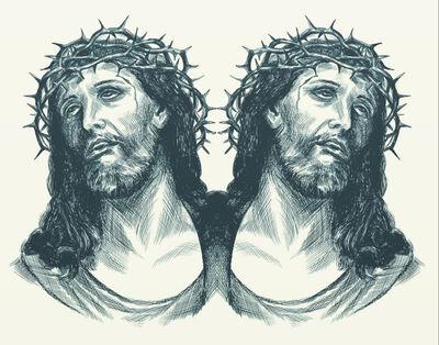 Ryan Schmidt, 'Two-faced Jesus', 2020