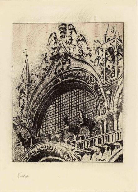 Walter Richard Sickert, 'The Horses of St Mark's', 1902