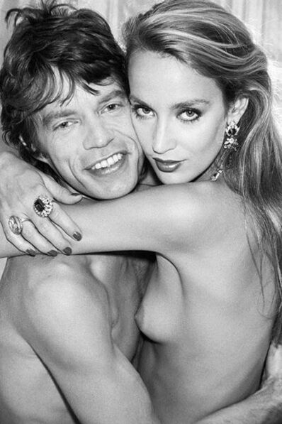 Norman Parkinson, 'Jerry Hall and Mick Jagger ', ca. 1981