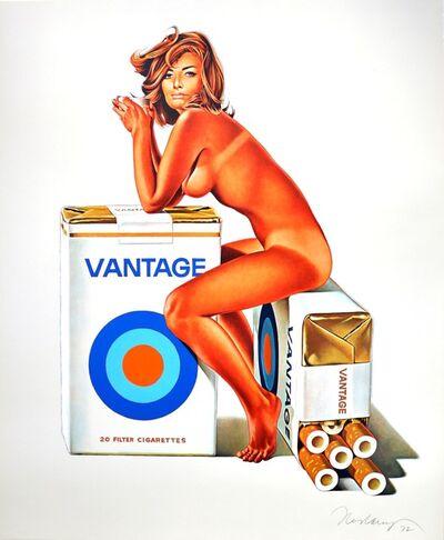 Mel Ramos, 'Tobacco Red / Vantage', 1972