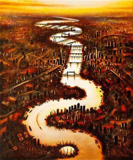 John Duffin, 'Thames Autumn', 2020