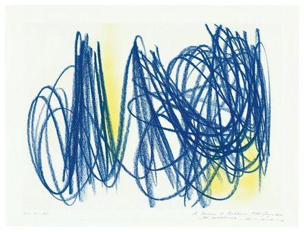 Hans Hartung, 'Ohne Titel (P.M. 1972-1)', 1972