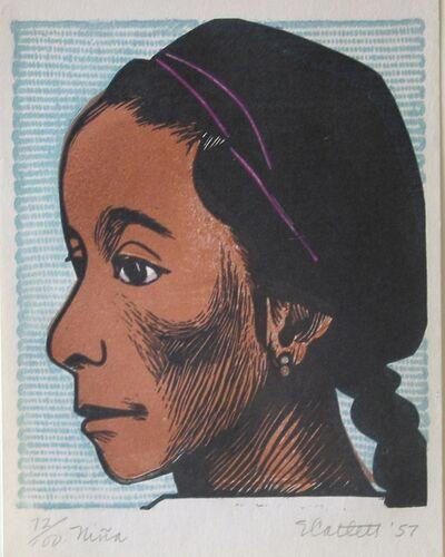 Elizabeth Catlett, 'Niña', 1957