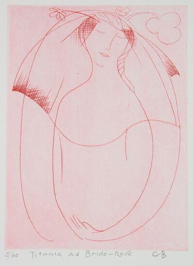 Charles Blackman, 'Titania as Bride Rose', 1989