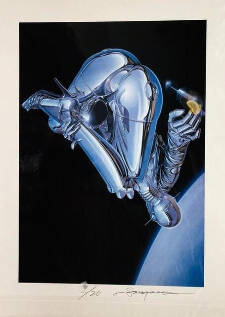 Hajime Sorayama, 'Zero Gravity', 2019