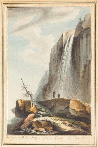 Caspar Wolf, 'Cascade dessus Wasserberg (Waterfall above Wasserberg)', ca. 1774