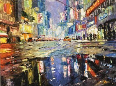 Elena Bond, 'Urban Reflection by Elena Bond (Decorative Framed Fine Art)', N/A