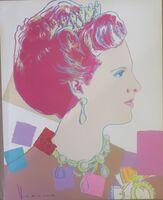 Andy Warhol, 'Queen Margrethe II', 1985