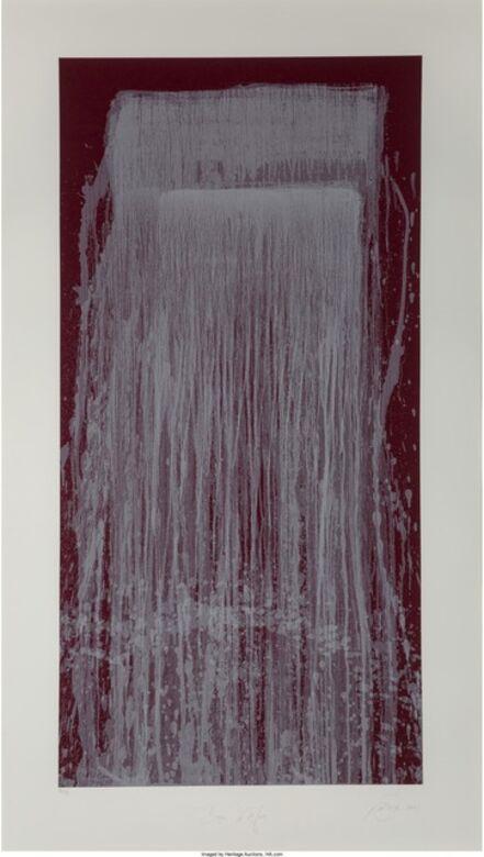 Pat Steir, 'Dragon Waterfall', 2001