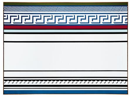Roy Lichtenstein, 'Entablature'