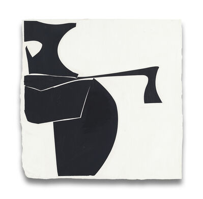 Joanne Freeman, 'Covers 13-Black B (Abstract painting)', 2014