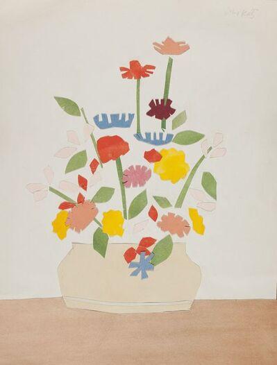 Alex Katz, 'Wildflowers in vase', 1954-1955