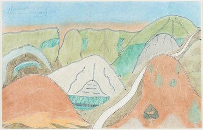 Joseph Yoakum, 'Coachello Valley Near San Bernardino California, August 4, 1969', 1969