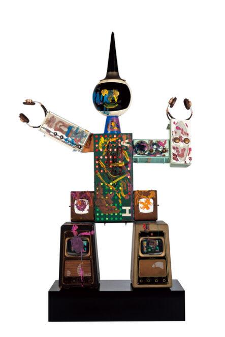 Nam June Paik, 'Robot Circus - Paint', 2004