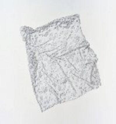 Lynn Itzkowitz, 'untitled ( pillowcase-fabric)', 2015
