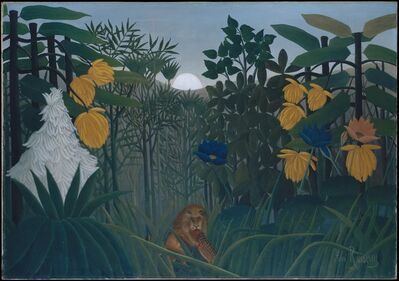 Henri Rousseau, 'The Repast of the Lion', ca. 1907