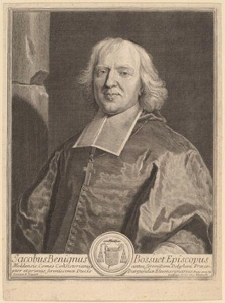 Gerard Edelinck after Hyacinthe Rigaud, 'Jacques Benigne Bossuet'