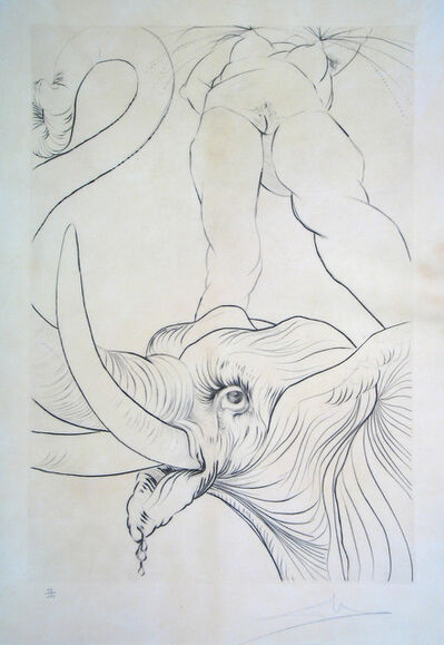 Salvador Dalí, 'Now it is Evening', 1973