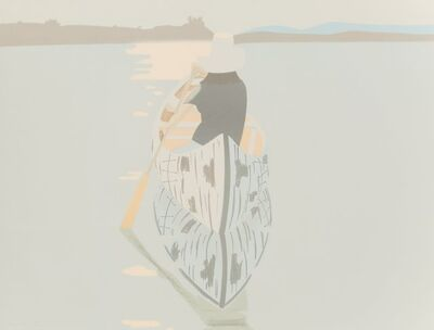 Alex Katz, 'Good Afternoon 2 (Gray Rowboat)'