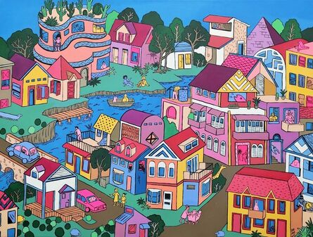 Stephanie Yong, 'My Town-Lakeville', 2019