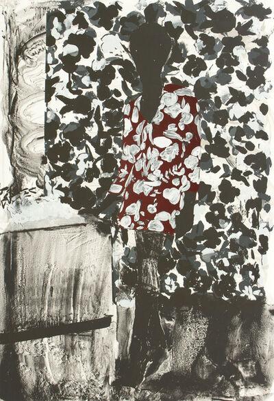 Hurvin Anderson, 'Mrs. S. Keita - Red & Black', 2010