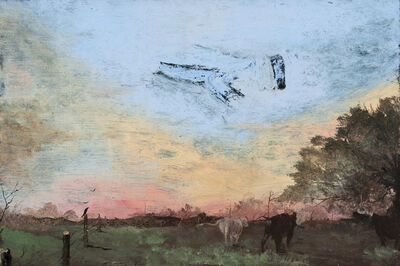 Miles Cleveland Goodwin, 'Cows Under a Painted Sky', 2016