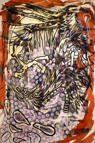 Lucio Santiago, 'Quetzalcóatl, El Origen Inerte 5', 2016