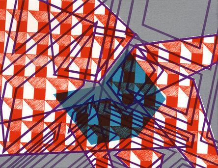 Bernard Cohen, 'Mirror x 6 (6)', 2008