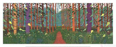 David Hockney, 'The Arrival of Spring in Woldgate, East Yorkshire', 2016