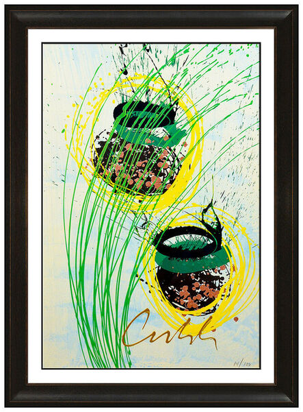 Dale Chihuly, 'Green and Yellow Baskets', 21ast Century