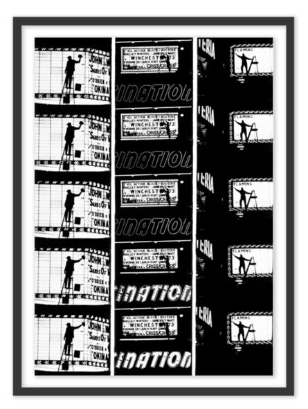 William Klein, 'Film Strips from Broadway by Light #2', 1958