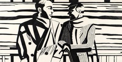 Alex Katz, '3 P.M.', 1988