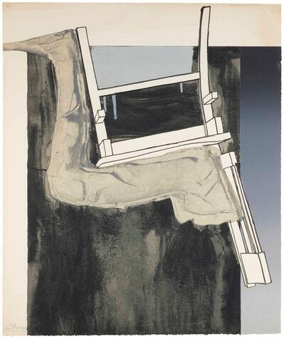 Jasper Johns, 'Leg and Chair', 1971