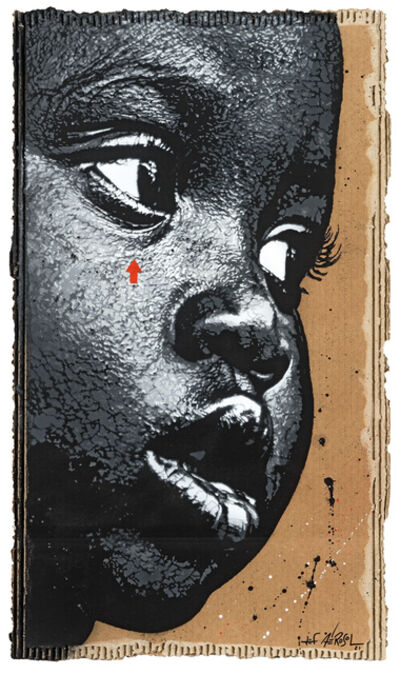 Jef Aérosol, 'Black kid', 2021