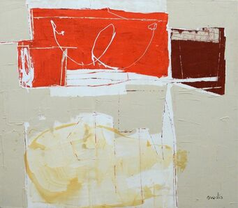 Rachel Ovadia, 'Composition In Red', 2004