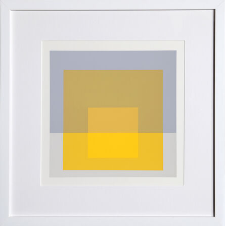 Josef Albers, 'Homage to the Square, Portfolio 2, Folder 5, Image 1', 1972