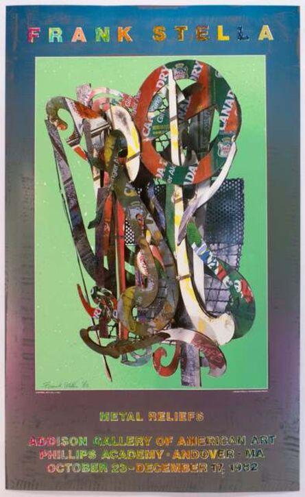 Frank Stella, 'Addison Gallery, Andover 1982 (Katsura 1977) SIGNED', 1982
