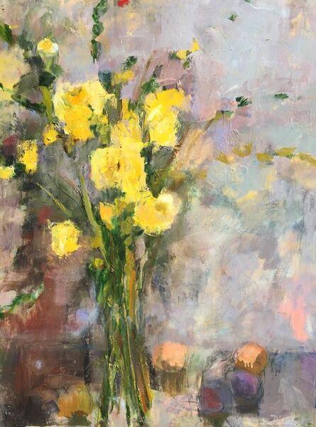 Cynthia Packard, 'Yellow Roses', 2016