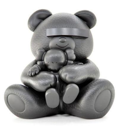 KAWS, 'Undercover Bear (Black)', 2009