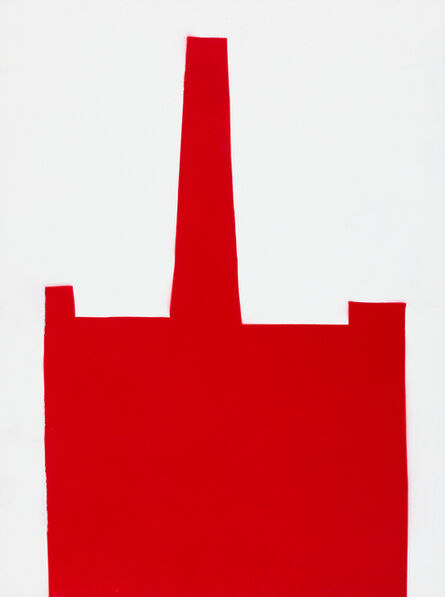 William Carroll, 'RED 58', 2017