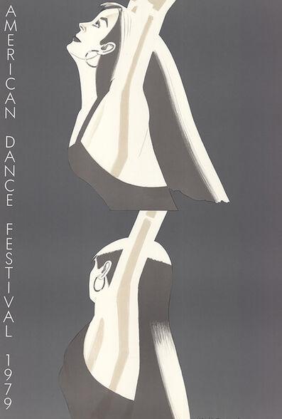 Alex Katz, 'William Dunas Dance, Pamela-American Dance Festival', 1979