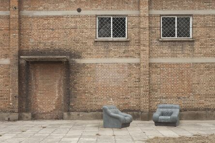 Ai Weiwei, 'Sofa in Grey (pair)', 2011