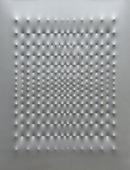 Enrico Castellani, 'Superficie alluminio', 1969
