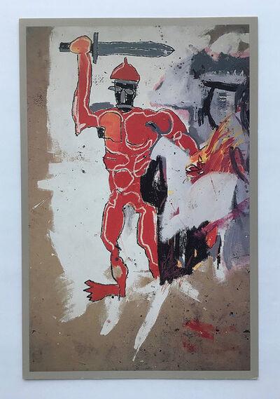 Jean-Michel Basquiat, 'Vrej Bahoomian invitation', 1989