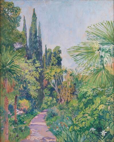 Camille Roche, 'Jardin de la Mortola 1', ca. 1930