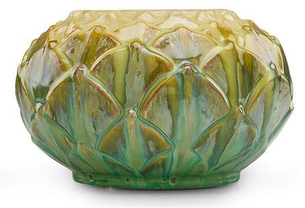Fulper Pottery, 'Artichoke vase, Flemington, NJ', ca. 1920